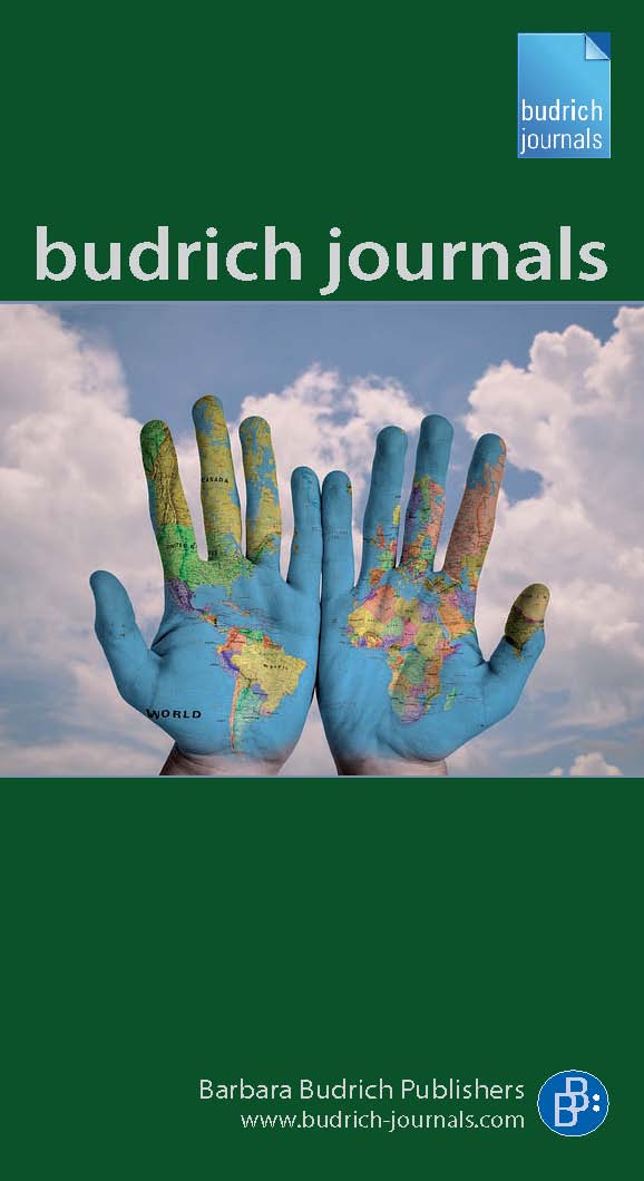 Cover Budrich Journals